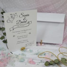Invitación Elegante Barata