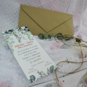 Invitación Floral Elegante