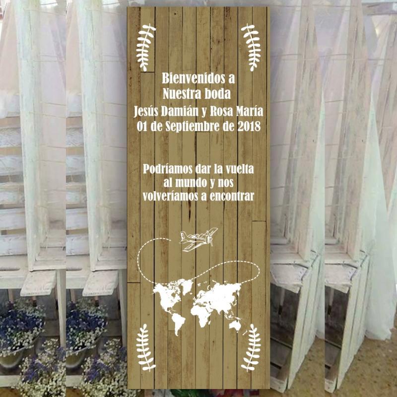 Banner para Boda Viajera
