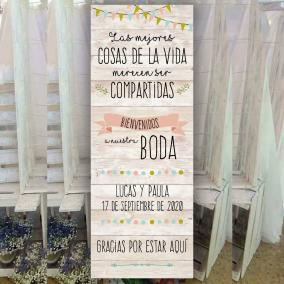 Cartel de Boda Original