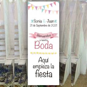 Cartel de Boda Divertido