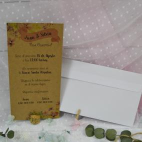 Invitación de Boda Original...