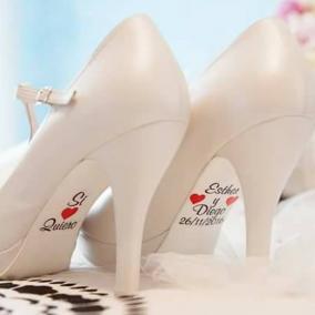 Adhesivos para Zapatos Corazón Rojo