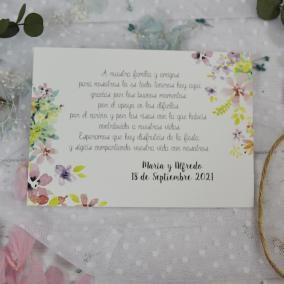 Tarjeta de Agradecimiento...