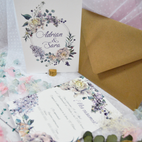 Invitacion elegante barata