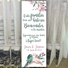 Banner pajaritos