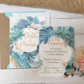 invitacion de boda original barata