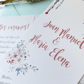 invitacion de boda diferente