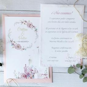 invitacion de boda disney