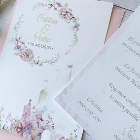 invitacion de boda barata disney