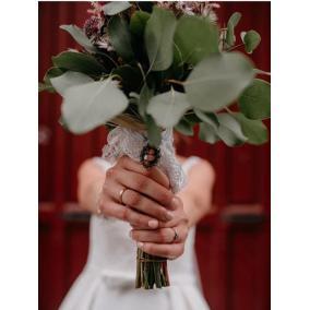 broches para ramos de novia