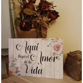 carteles para bodas niños