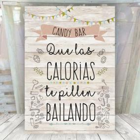 Cartel Vintage Claro Candy Bar