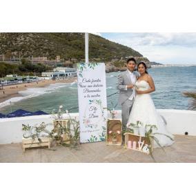 Banner boda personalizado