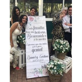 cartel boda familiar