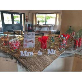 cartel candy bar boda