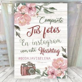 Cartel Floral Instagram