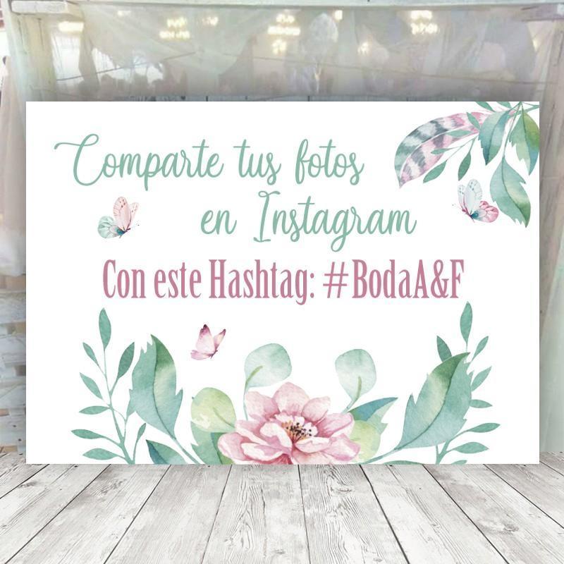 Cartel Mariposas Instagram