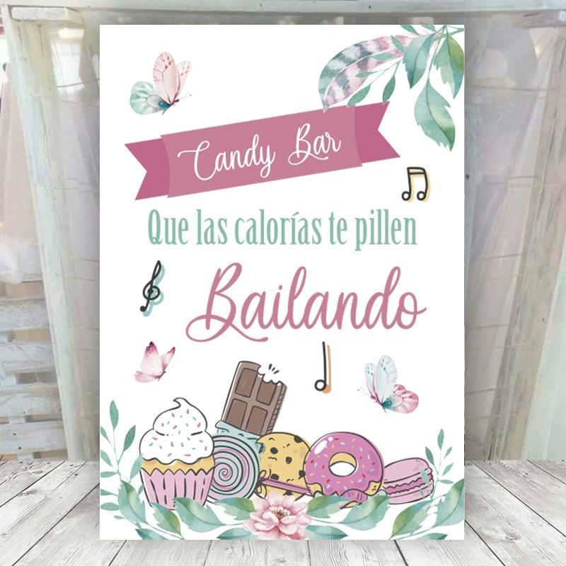 Cartel Mariposas Candy Bar