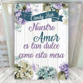 Dulce Candy Bar Boda