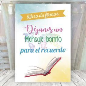 Cartel Libro Firmas Travel