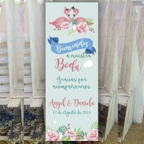Cartel Bienvenida Flamencos