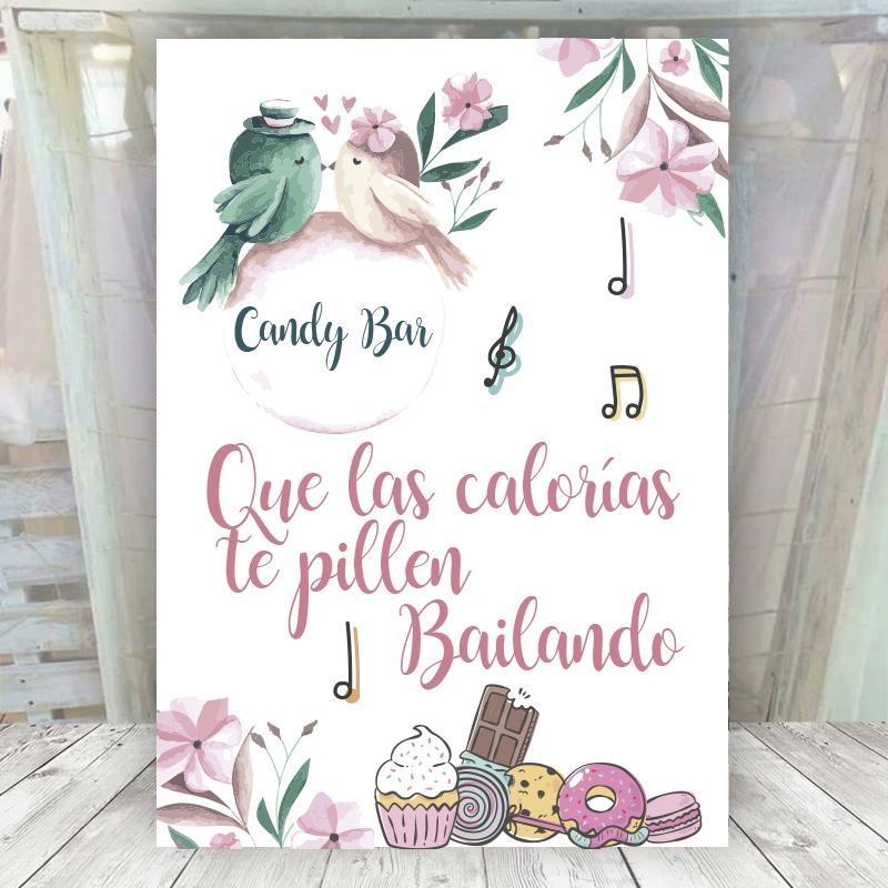 Candy Bar Pájaros