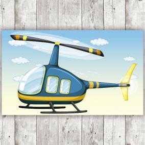 Helicóptero para Photocall