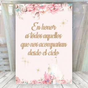 Cartel Desde el Cielo...