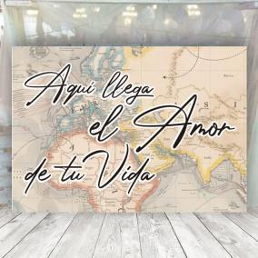Cartel Amor de tu vida Viaje
