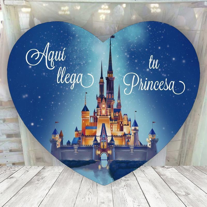 Corazón Novia Disney