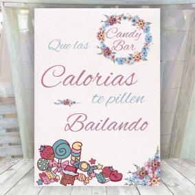 Cartel CandyBar Jazmín