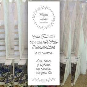 Banner Flores Minimalistas