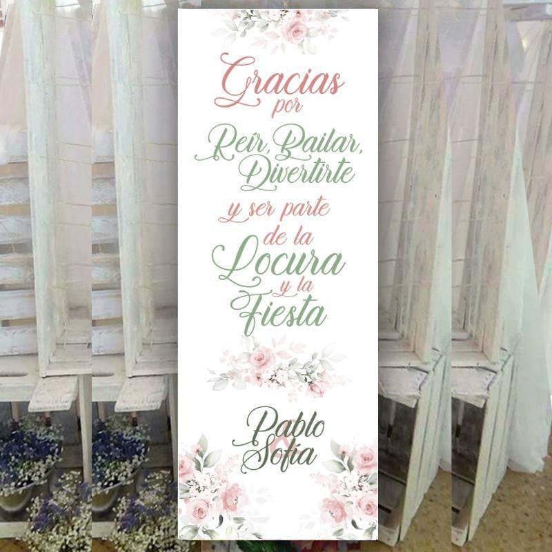 Banner Romántico para Bodas