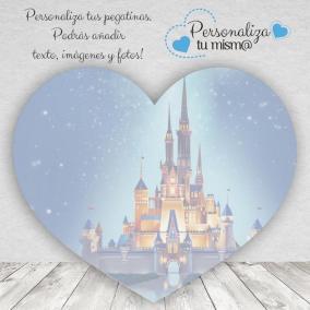 Adhesivo Corazón Disney