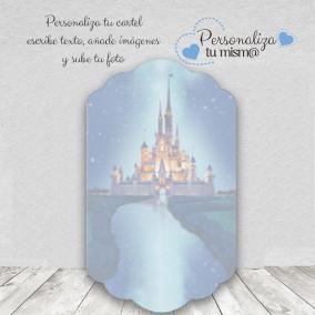Pegatina Botella Disney