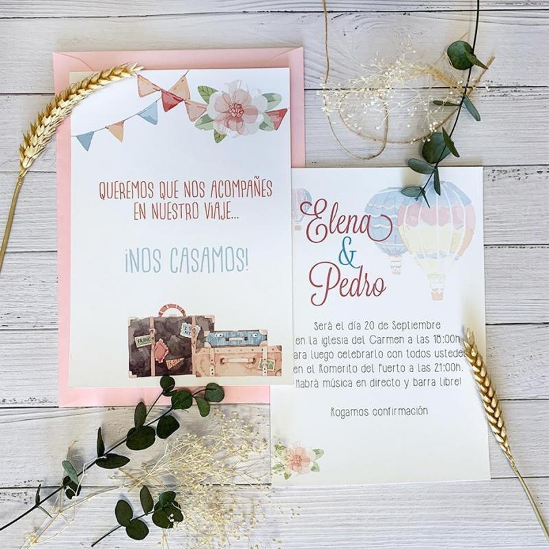 Invitación Viaje Bonita