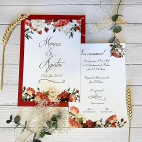 Invitación Rosas de Invierno