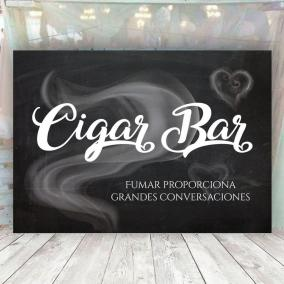 Cartel Cigar Bar para Bodas