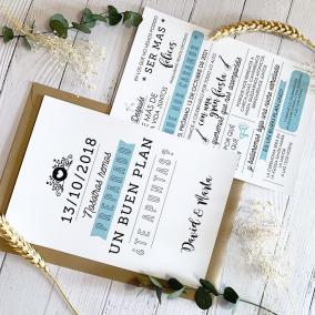 invitacion de boda divertida