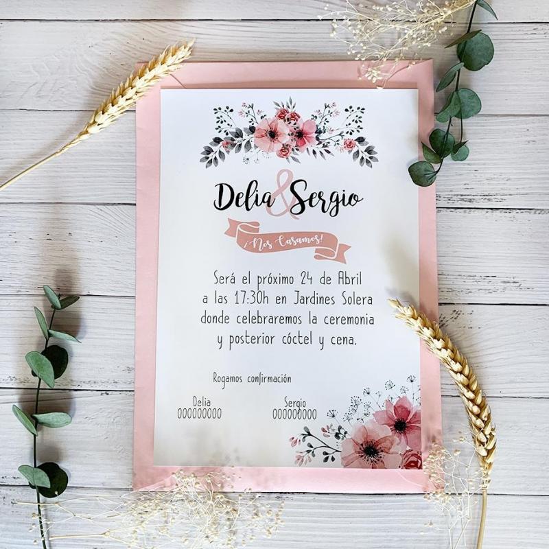 Invitación Cerezo en Primavera