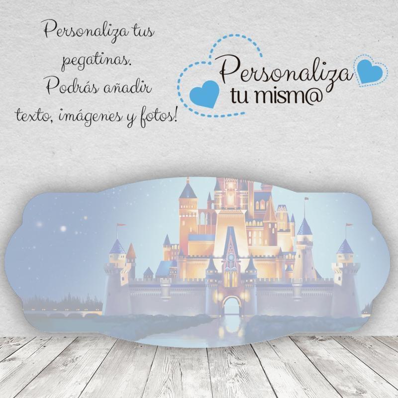 Pegatina Horizontal Castillo Disney