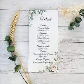 Minuta Floral Rosa
