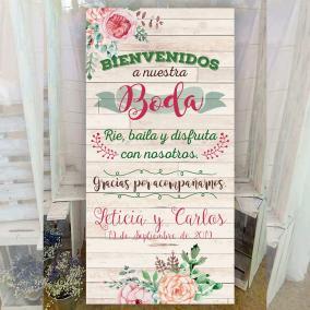 Cartel de Bienvenida Original