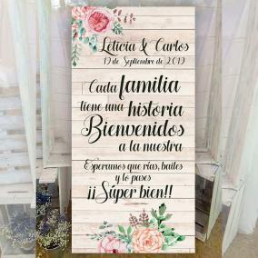 cartel para bodas