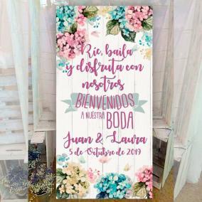 Cartel para bodas divertido