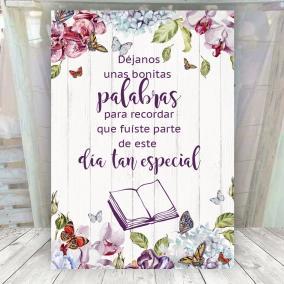Cartel mariposas Libro de...
