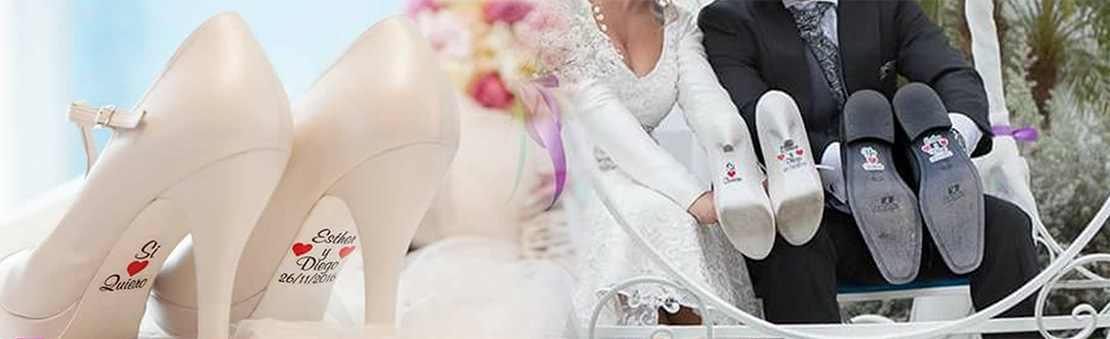 Venta de pegatinas para novias y novios